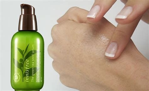 Serum Korea review innisfree the green tea seed serum from korea