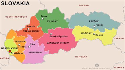 where is slovakia on the world map slovakia genealogy genealogy familysearch wiki