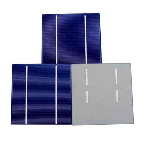 Solar Cell Monocrystalline 156 X 156mm Kit 3 Busbar Solar Panels Best 40pcs 156 58 5mm mono solar cell 12v solar photovoltaic mono monocrystalline silicon solar