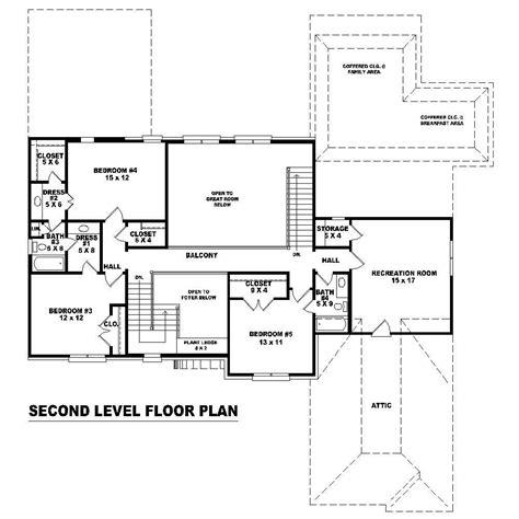second story floor plans house plans home design su b2800 1309 717 f