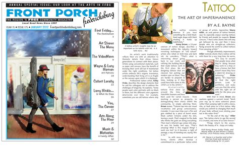 new article in the fredericksburg front porch jack