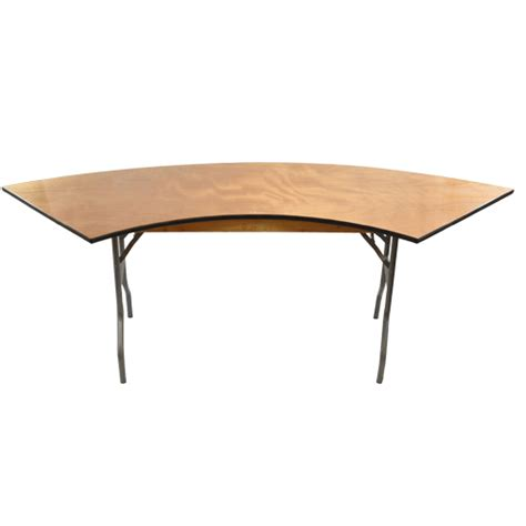 banquet tables 6 ft serpentine wood folding banquet table folding tables