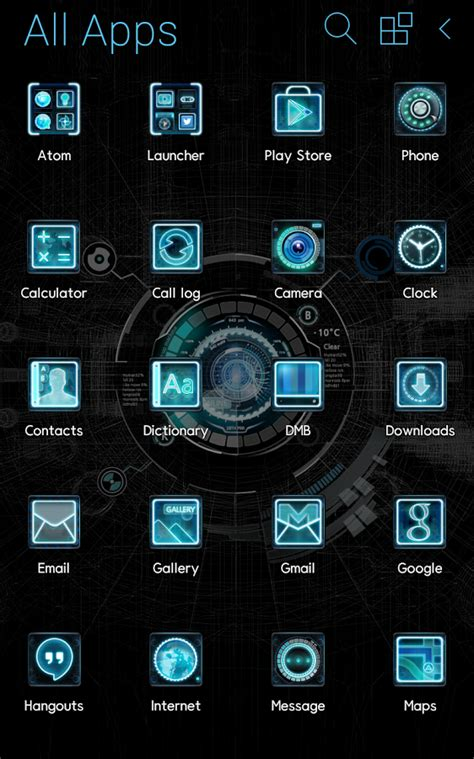 android themes free black mechanic atom theme android apps on play