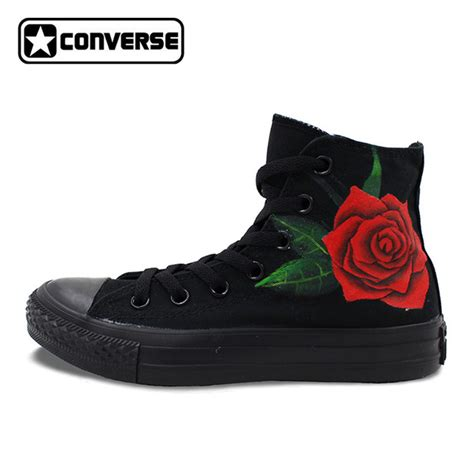 all black high top sneakers all black converse chuck shoes floral