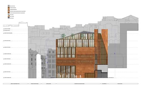 Floor Plan View gallery of lse saw hock student centre o donnell