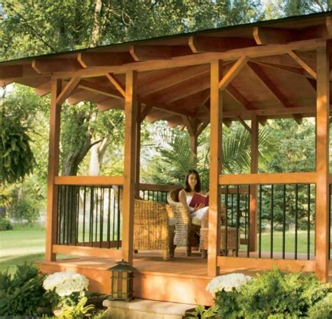 diy backyard gazebo 10 outdoor diy projects that inspire beauty and relaxation