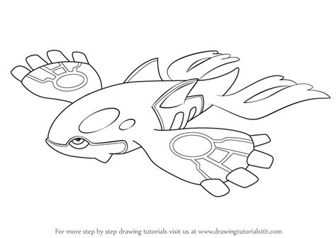 pokemon kyogre coloring pages images pokemon images