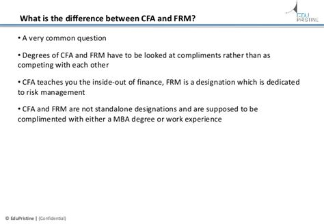 Cfa Vs Mba For Engineers by Career Prospects After Cfa Frm A Comparative Analysis