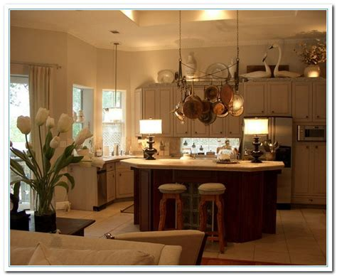 decorating the top of kitchen cabinets tips for kitchen counters decor home and cabinet reviews