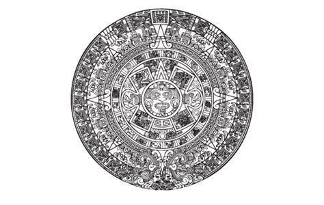 Calendario Azteca Vector Vector Logo Azteca Calendario Free Vector Logo Template