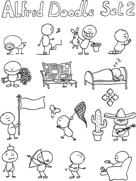 doodle inc これは絶対使いたい ほのぼの落書きクリップアート素材7set 商用可 eps free style