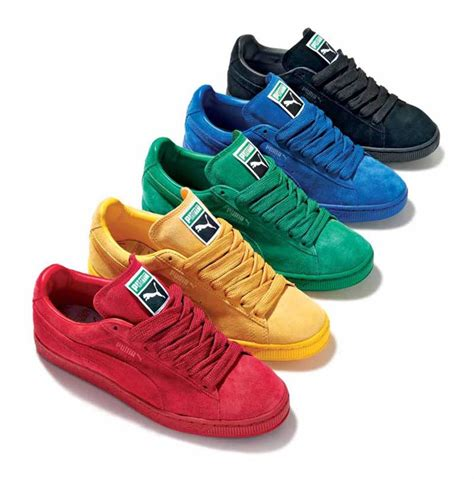 pumas sneakers a collection of suedes gallery