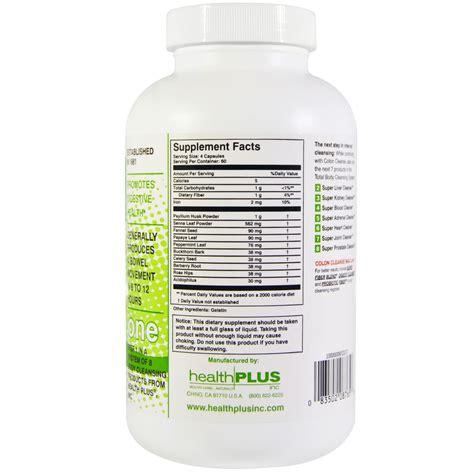 Detox Colon Cleanse Bangkok health plus colon cleanse 240 capsules