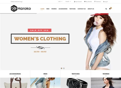 17 Best Clothes Fashion Magento Themes Free Premium Freshdesignweb Fashion Store Website Templates