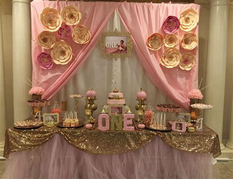 gold birthday themes pink gold birthday quot pink gold 1st birthday quot catch