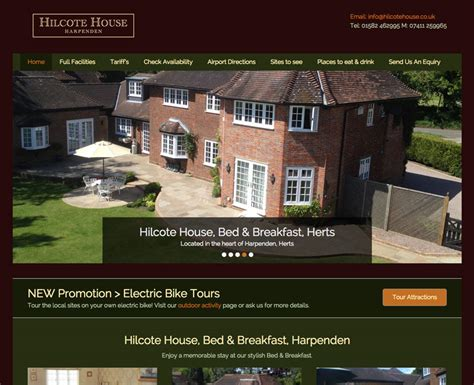 House Design Websites Uk Web Design Harpenden Hertfordshire Hilcote House