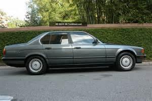 1990 Bmw 735i 1990 Bmw 735i Base Sedan 4 Door 3 5l