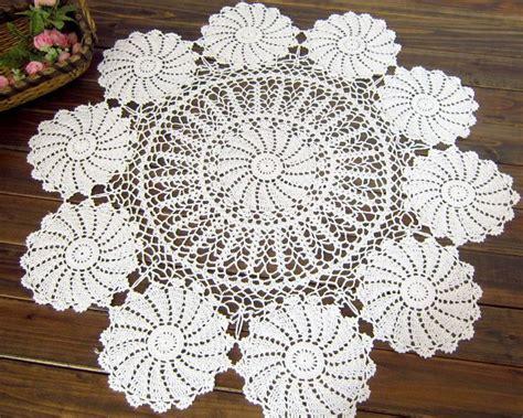 Handmade Crochet Tablecloths For Sale - aliexpress buy vintage handmade crochet tablecloth