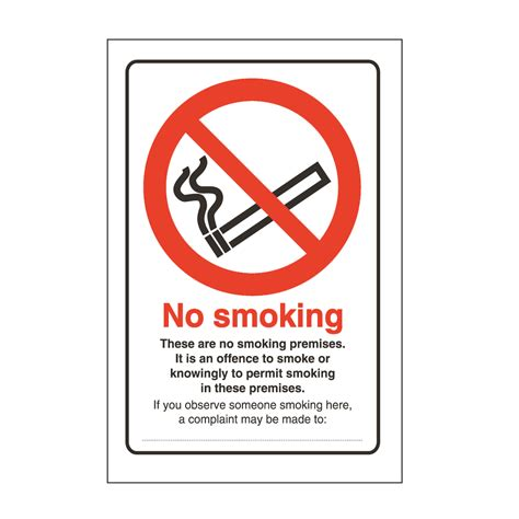 No Smoking Sign Board Pictures | no smoking board safety sign tuff sign from bigdug uk