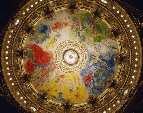 Plafond Chagall by Les Fresques De Chagall Au Plafond De L Op 233 Ra Garnier
