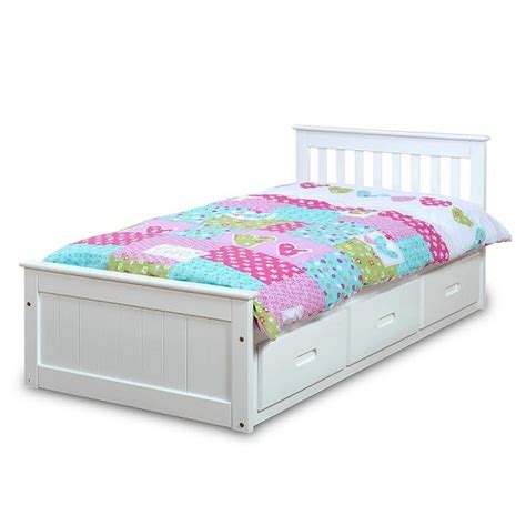 single bed with drawers single bed with drawers 28 images mission storage single bed in white with 3