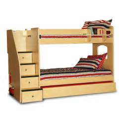 Bunk Bed Stairs Only Bunk Beds With Stairs Decofurnish