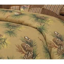 crestwood pine cone duvet coverlet