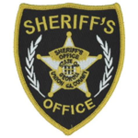 Union County Sheriff S Office by Deputy Sheriff Derrick Whittle Union County Sheriff S