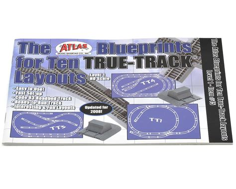 atlas fantastic layout booklet download atlas railroad blueprints for 10 true layouts book atl15