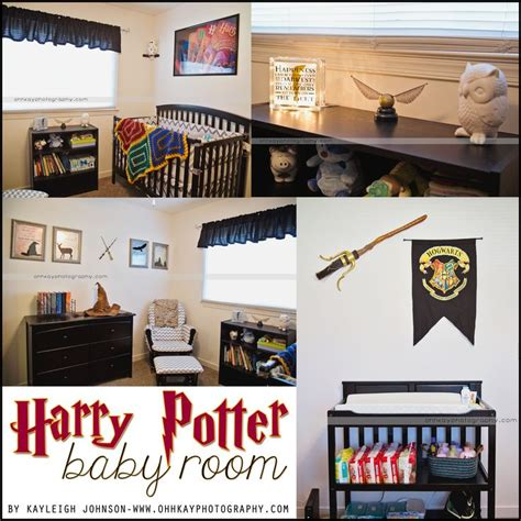 Our Harry Potter Nursery Finally 25 B 228 Sta Baby Harry Potter Id 233 Erna P 229 Harry