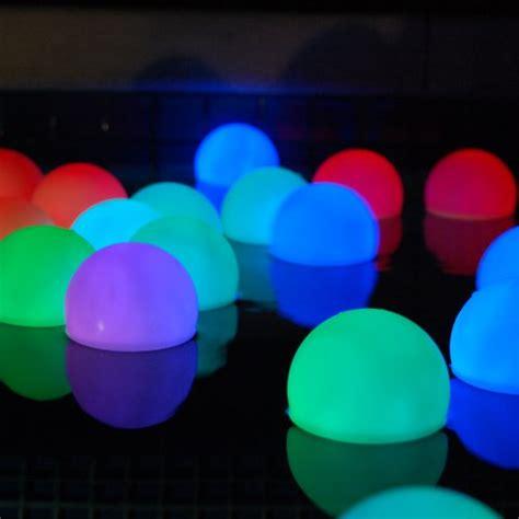 diy floating pool lights mood light garden deco balls light up orbs floating