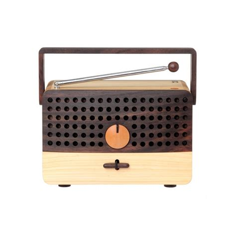 Handcrafted Radio - ikono handmade radio speaker by magno wooden radio