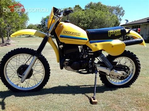 Suzuki Pe400 1980 Suzuki Pe400 Cycles Dirt Biking