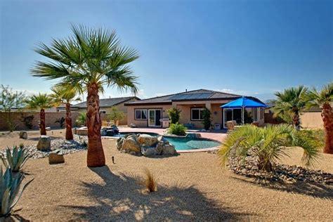 how to desert landscape your yard desert landscape front