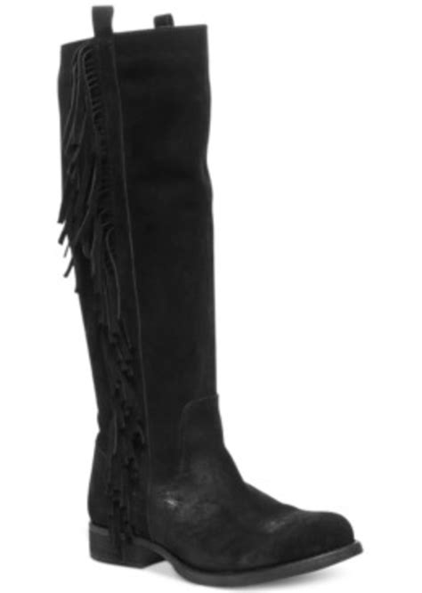Steve Madden Shoes W by Steven By Steve Madden Steven By Steve Madden Dalton Fringe Boots S Shoes Shoes