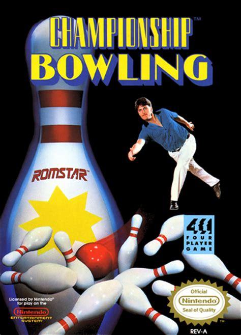 Free Cd Artwork by Play Championship Bowling Nintendo Nes Online Play Retro