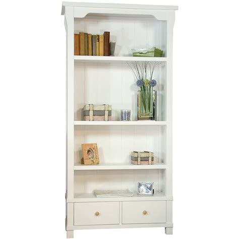 Lila White Painted Bookcase With Drawers Home Pinterest White Painted Bookcase