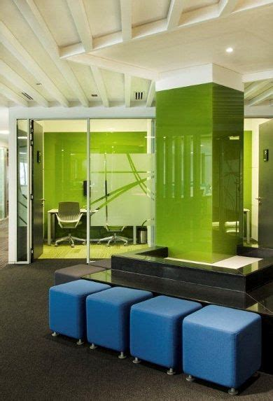 Blue Office Interiors by 37 Best Images About Corporate Lobby Ideas On