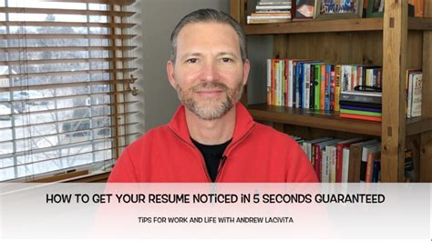 How To Get Your Resume Noticed by How To Get Your Resume Noticed In 5 Seconds Guaranteed