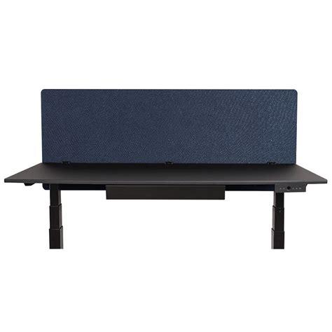 60 x 24 desk luxor rclm6024sb reclaim starlight blue 60 quot x 24 quot desk