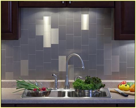 metallic backsplash tiles peel stick peel and stick backsplash tile home design ideas