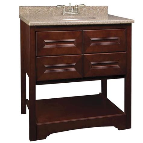 bathroom vanity menards park avenue series 30 quot w x 21 quot d vanity at menards