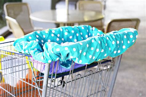 grocery cart baby seat cover pattern a universal shopping cart and high chair cover a tutorial
