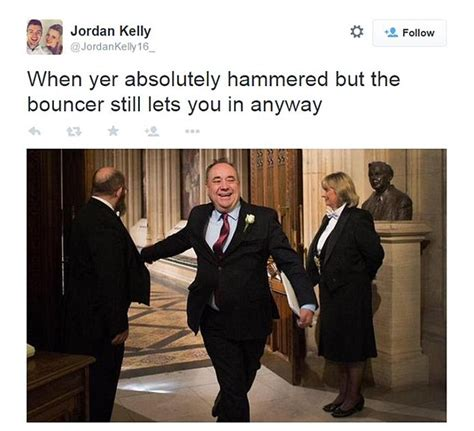 Alex Salmond Meme - alex salmond bursting into house of commons sparks new
