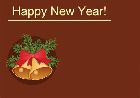 happy new year template card happy new year card template merry happy new