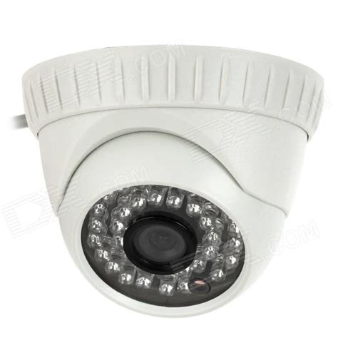 Kamera Cctv 36 Led Infrared Fitek Indoor White 600tvl built in ir cut security 36 ir led indoor cctv dome white pal free shipping