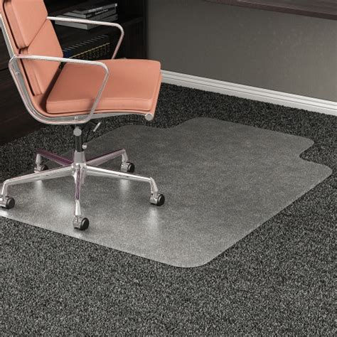 Office Chair Mat For High Pile Carpet by Deflect O Rollamat Chairmat Defcm15233 Easy Ordering