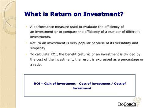 Https Aringo Mba Return On Investment Roi Calculator by Return On Investment Business Plan Drugerreport269 Web