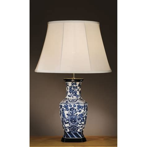 blue and white porcelain table ls blue asian style ls