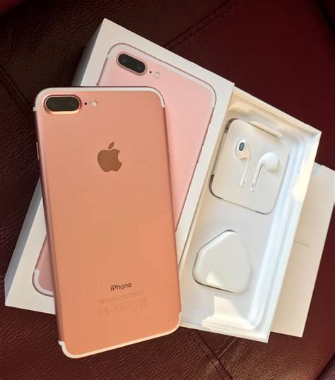 iphone 7 plus 32gb gold on o2 network apple warranty till october 2017 walsall walsall